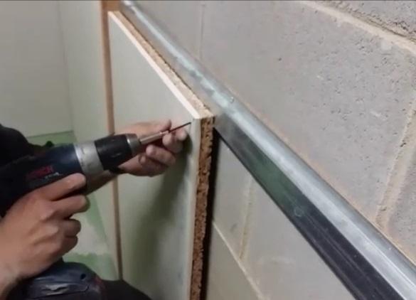 Aislamiento ac stico con corcho natural barnacork - Aislante acustico para paredes ...