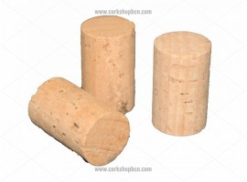 Cylindrical Natural Cork Stopper Long Length for 3/4 litre bottles