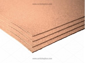 Fine grain cork sheets