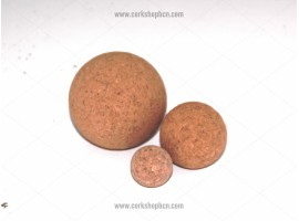 Agglomerated Cork balls