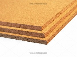 Coarse grain cork sheets