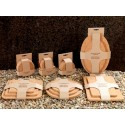 Cork Place Mats and Coasters