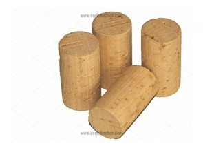 Cylindrical Natural Cork Stopper for 3/4 litre bottles