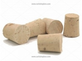 Tapered Natural Cork Stopper 22x18 mm