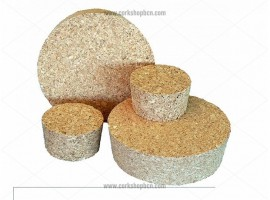 Agglomerated natural cork stopper 65x55 mm