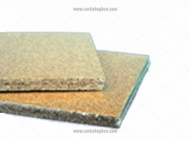 Coarse-grained cork sheets